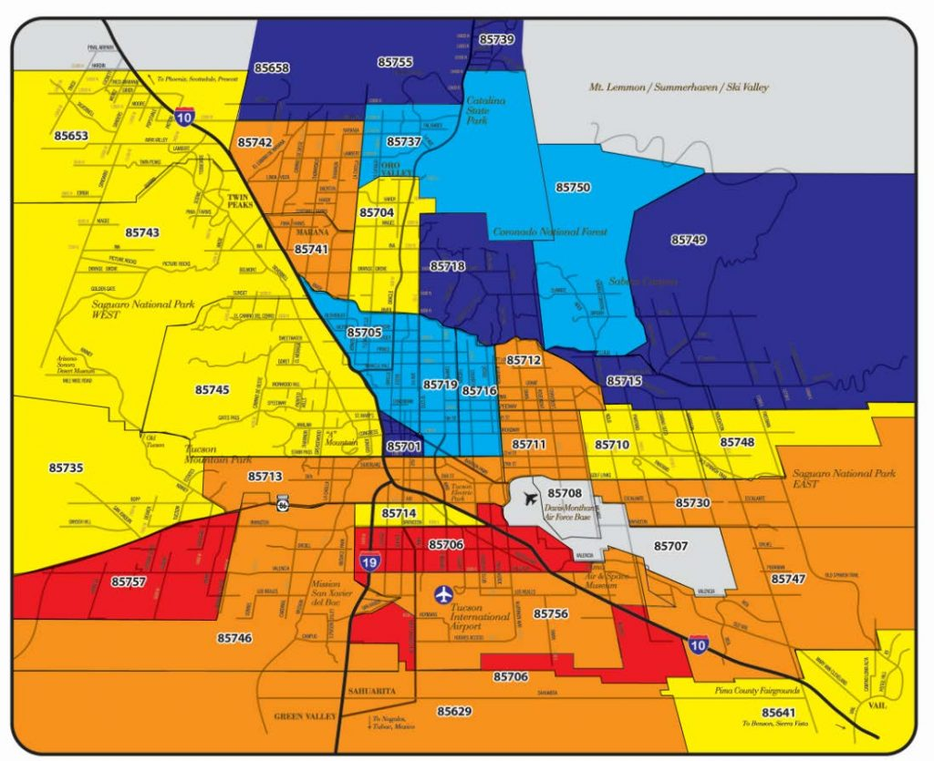 Claire Ownby Phoenix Arizona Area: Scottsdale Zip Code Map